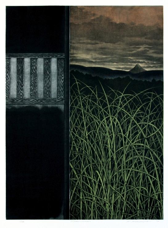 Hamanishi Katsunori contemporary Japanese print artists