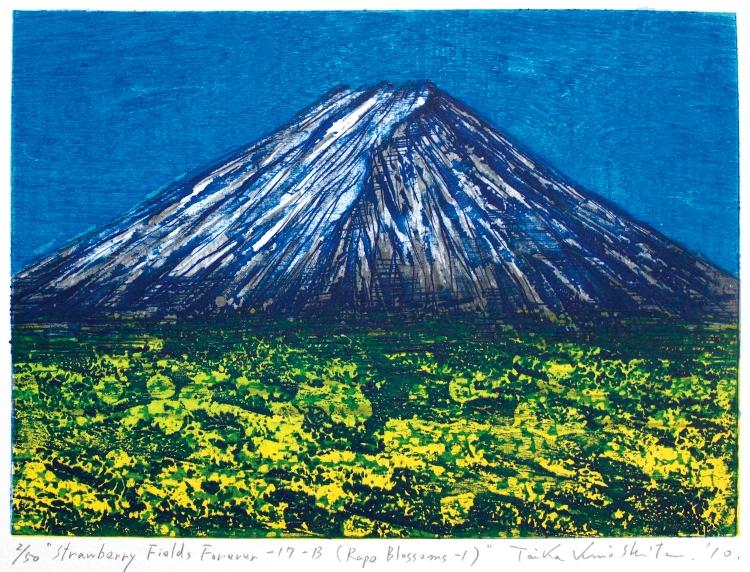 Kinoshita Taika Strawberry Fields Forever - 17B Japanese contemporary prints
