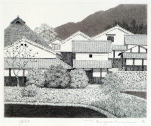 Tanaka Ryohei contemporary Japanese print artist gallery